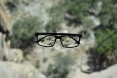 Just my glasses Stock Photo