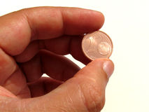 Just my two cents Stock Photography