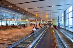 Just nu hade flygplatsen tre fungerande terminaler Arkivfoton