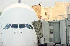 Just nu hade flygplatsen tre fungerande terminaler Royaltyfri Bild