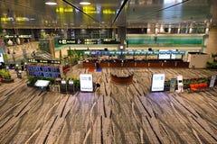 Just nu hade flygplatsen tre fungerande terminaler Royaltyfria Bilder