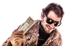 Just one dollar Royalty Free Stock Photo