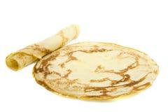 Just pancakes royalty free stock image