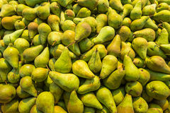Just picked pears from close Royalty Free Stock Photo