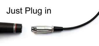 Just plug in Royalty Free Stock Photos
