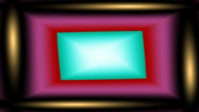 Just post it, widescreen. Widescreen bright frame for central text message Stock Images