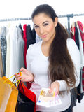 Just Shopping Royalty Free Stock Images