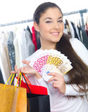 Just Shopping Royalty Free Stock Photography