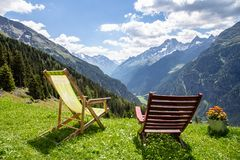 Just sit and relax royalty free stock photography