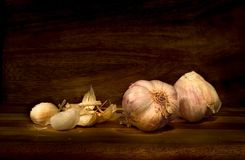 Just some garlic Stock Images