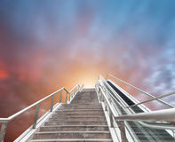 Just staircase leading to heaven. Eastphoto, tukuchina, Just staircase leading to heaven, Transportation, Bridge Stock Photos