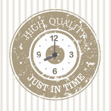 Just in time design Stock Images