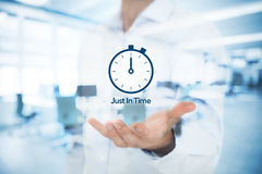 Just in time JIT Royalty Free Stock Photo