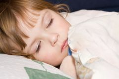 Just about to sleep Stock Images