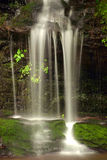 Just a trickle. Small Great Smoky Montain Waterfall Royalty Free Stock Images