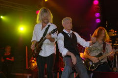 Just Wait Dennis DeYoung in Blue Ash Royalty Free Stock Images