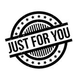 Just For You rubber stamp Stock Photos