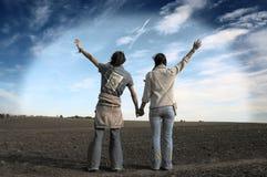 Juste amis ? Images libres de droits