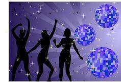 Juste danse Photo libre de droits