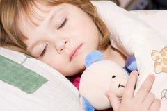 Juste environ pour dormir Photographie stock libre de droits