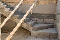 Juste escaliers faits Photo libre de droits