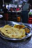 A juste fait le chapati et le corroie dans Mandalau image stock