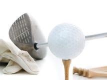 Juste golf Photos libres de droits