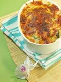 Juste lasagne cuit au four Image libre de droits