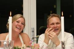 Juste marié photo stock