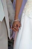 Juste marié Photographie stock