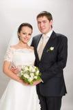 Juste marié. photographie stock libre de droits