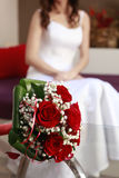Juste mariage Images stock