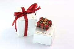 Juste pour vous cadeau Images stock