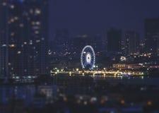 Juste-roue d'Asiatique, Bangkok Photo libre de droits