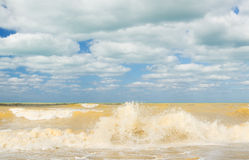 juste tempête Image libre de droits