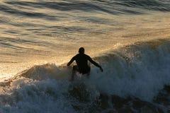 Juste un autre jour de surfer Image libre de droits