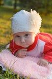 Juste une petite fille Photo stock