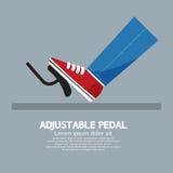 Justerbar pedal Royaltyfri Foto
