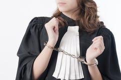 Justiça é cega Imagens de Stock