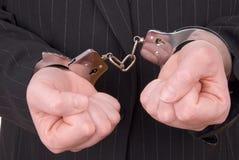 Justiça do negócio Foto de Stock