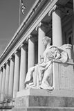 Justiça é cega Foto de Stock Royalty Free