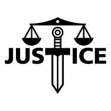 Justice. Weight sword truth court law judge Stock Photography