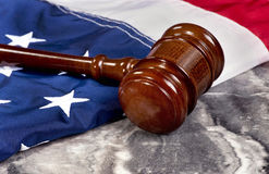 Justice and America. Stock Photo