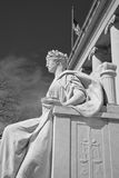 Justice is Blind. For lawyers judges attorneys politicans legal scholars statue in Memphis Tennessee Stock Image