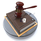 Justice book Royalty Free Stock Photos