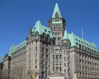 Justice Building, Ottawa royalty free stock photography