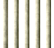 Justice Columns Front Stock Photography