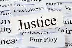 Justice Concept Royalty Free Stock Images