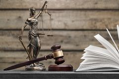 Justice concept. Court criminal jury justice law lawyer Royalty Free Stock Photography