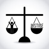 Justice concept Stock Images